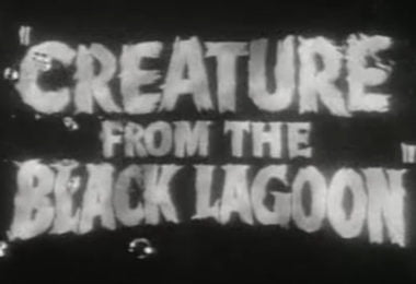 Creature from the Black Lagoon Trailer