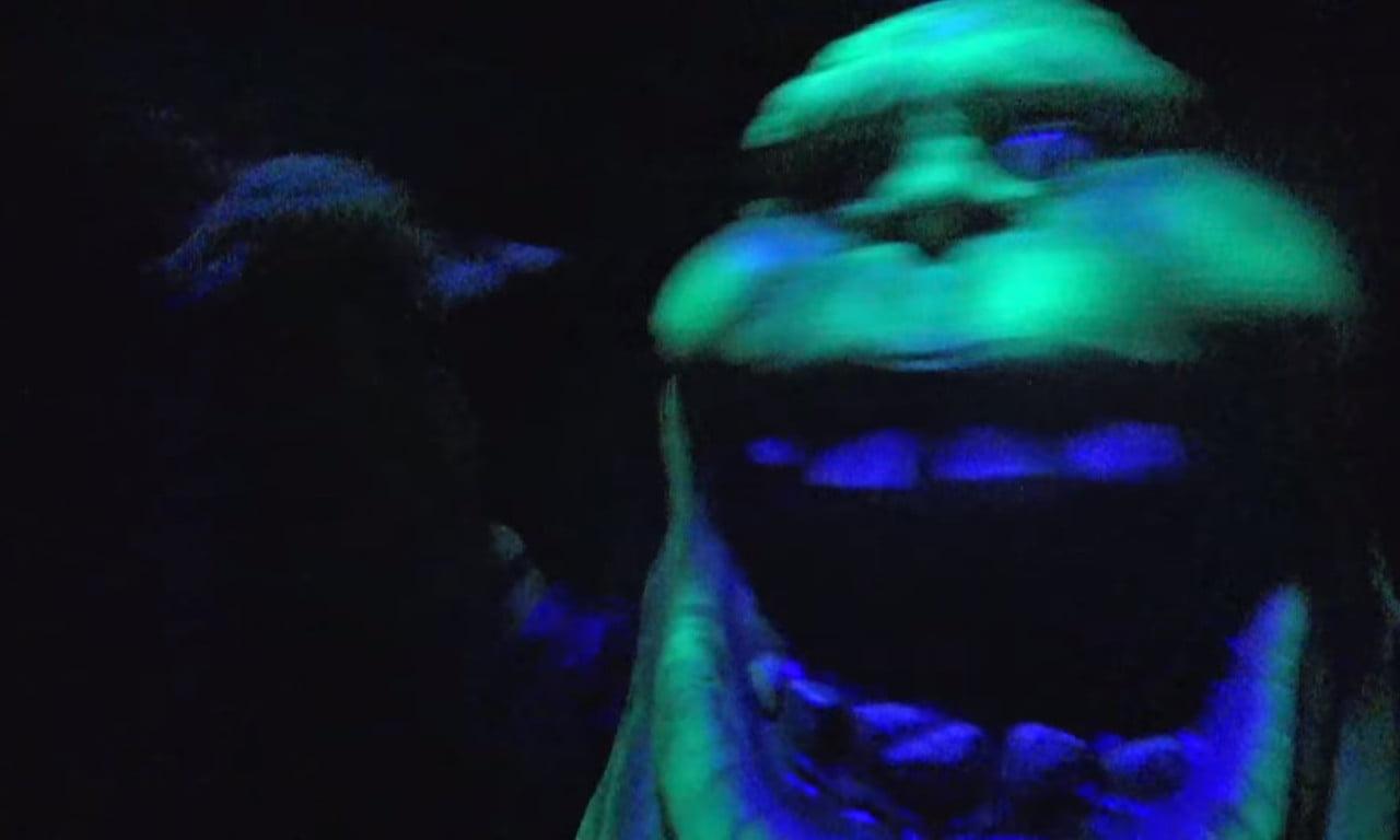 Slimer at Universal Studios