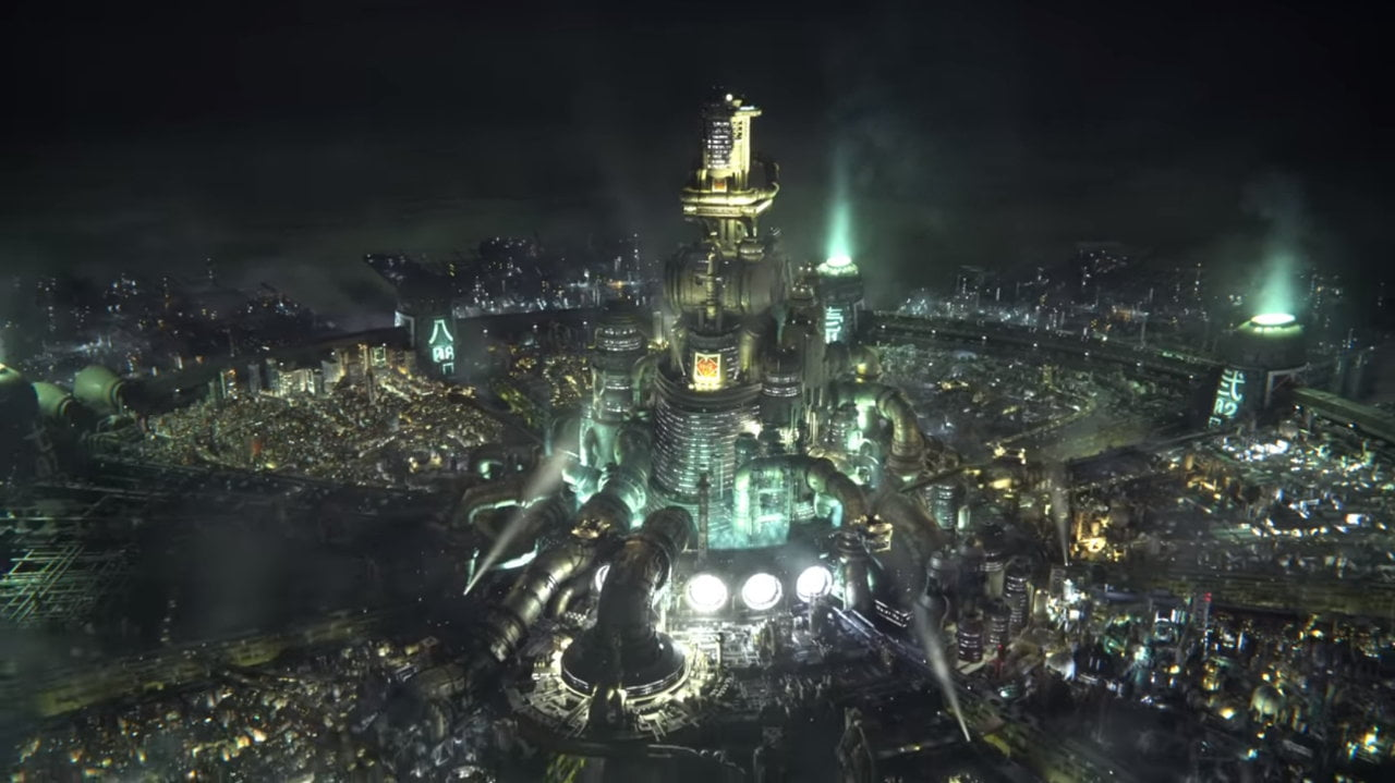Midgar in Final Fantasy VII Remake