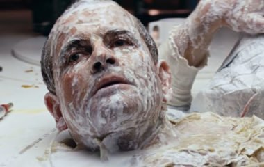Ian Holm as a robot in Alien