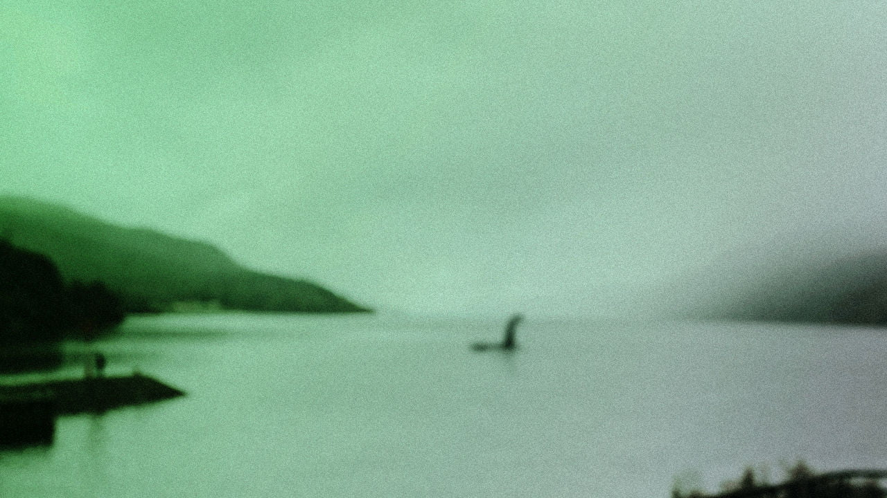 A possible Loch Ness monster sighting