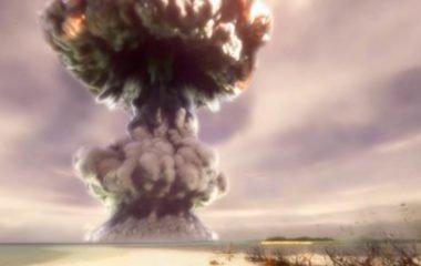 A virtual hydrogen bomb in VR