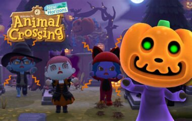 Pumpkin Jack joins Animal Crossing