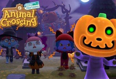 Pumpkin Jack joins Animal Crossing