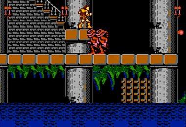Castlevania NES level 1