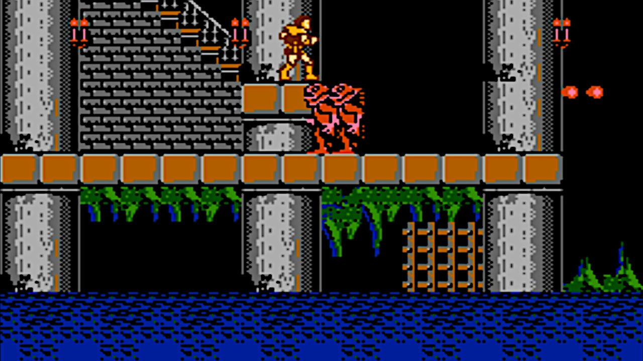 Castlevania NES level 1