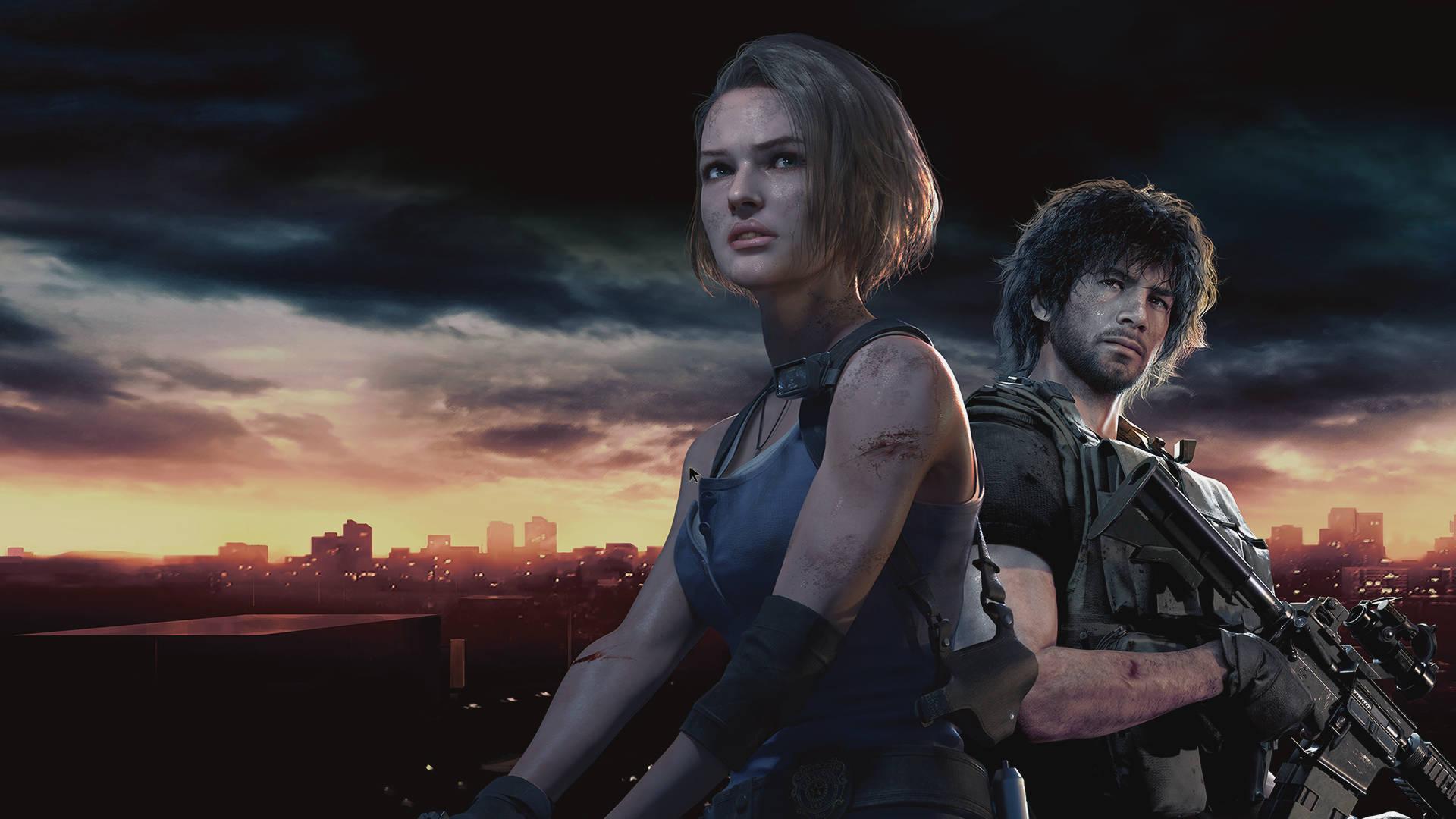 Jill Valentine in Resident Evil 3 remake