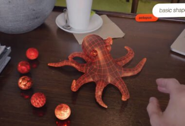 A virtual octopus in scifi short Strange Beasts