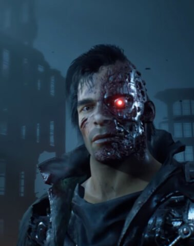 The T-800 in Terminator: Resistance Infiltrator Mode
