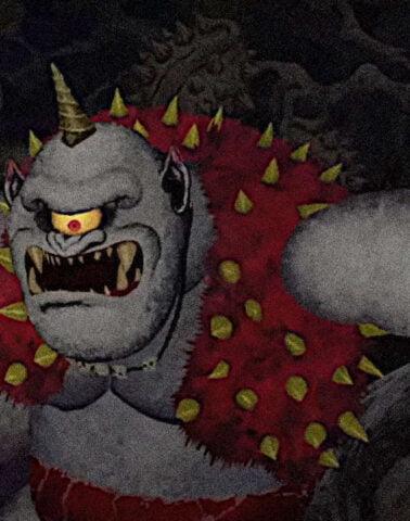 The cyclops in Ghosts 'n Goblins Resurrection