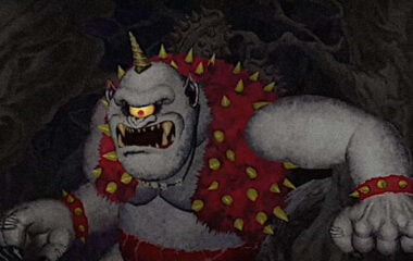 The cyclops in Ghosts 'n Goblins Resurrection