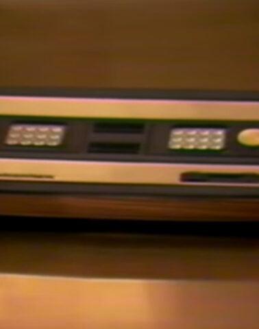 An original Intellivision, slightly blurry