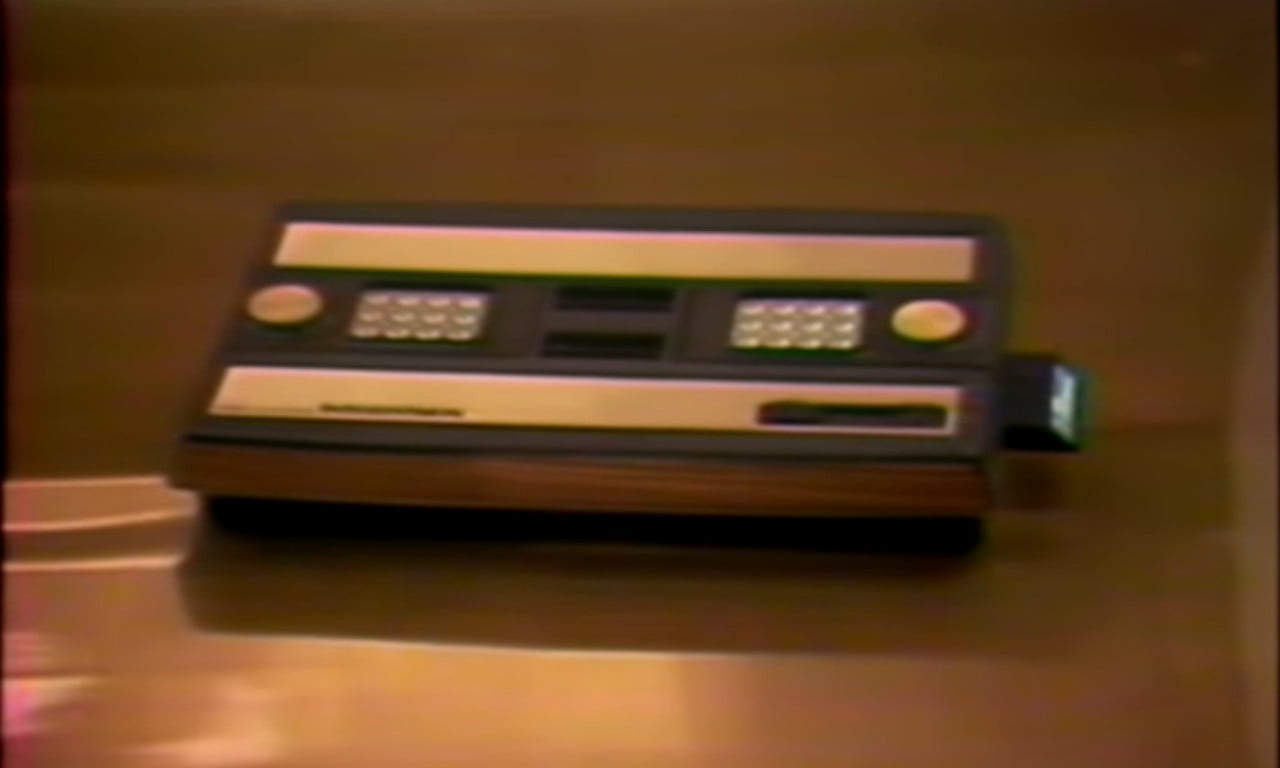 An original Intellivision, slightly blurry