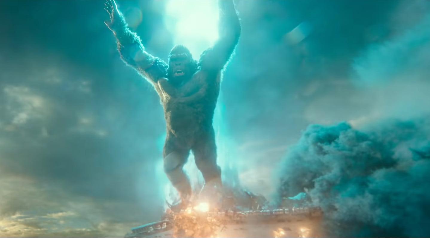 King Kong dodges atomic breath