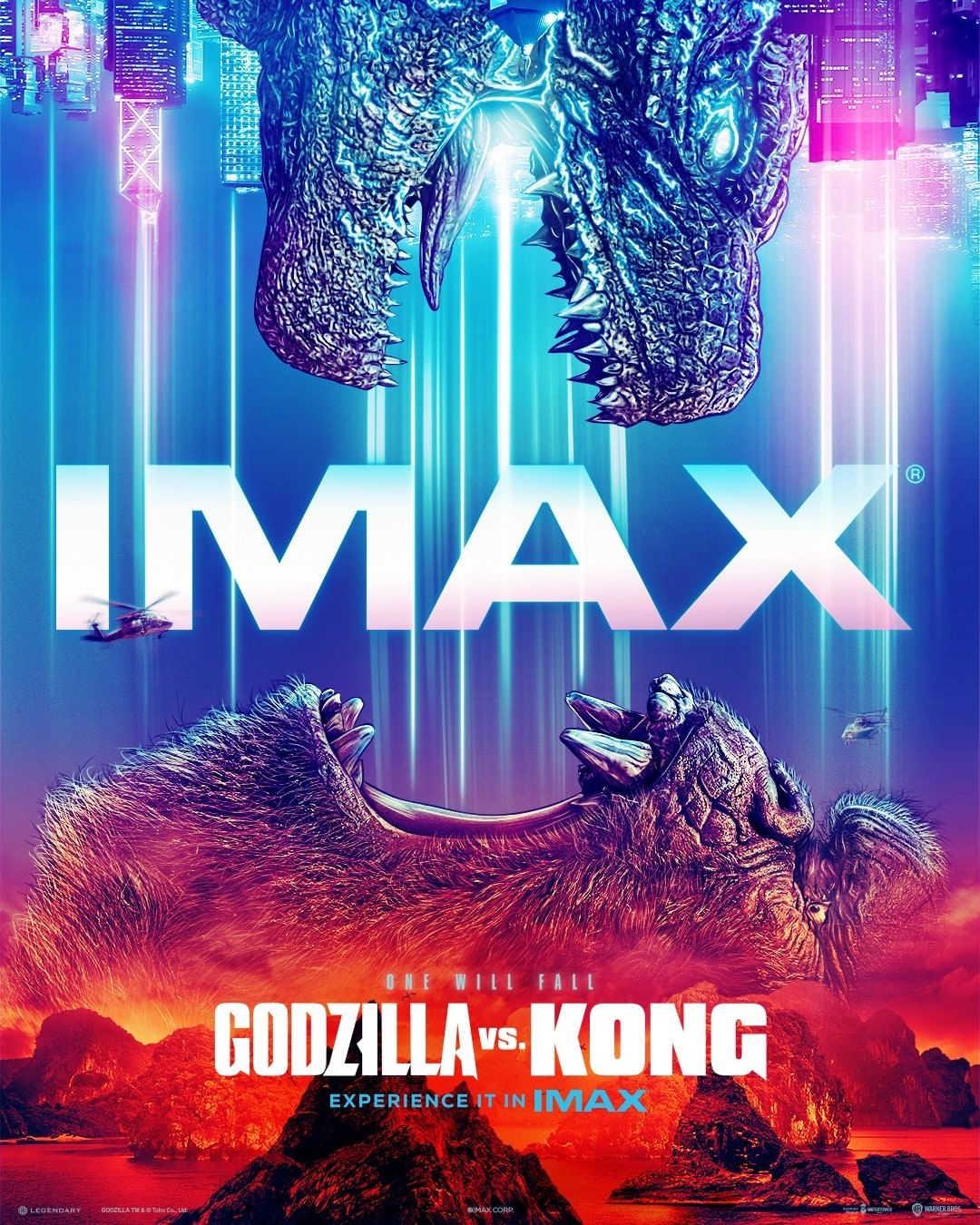 Godzilla Vs. Kong IMAX poster