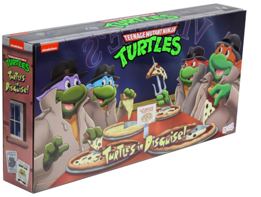 TMNT Turtles in Disguise box