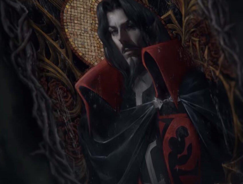 Dracula in Netflix's Castlevania