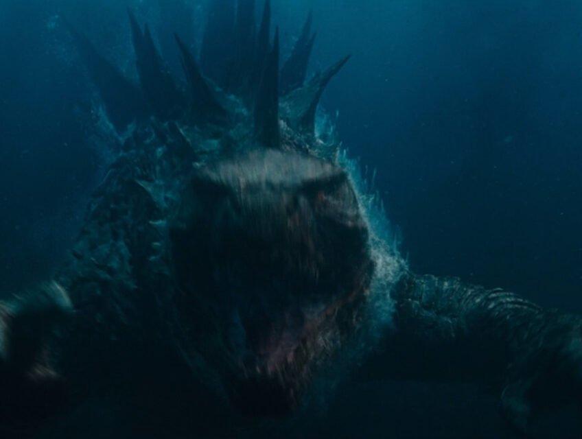 Godzilla underwater