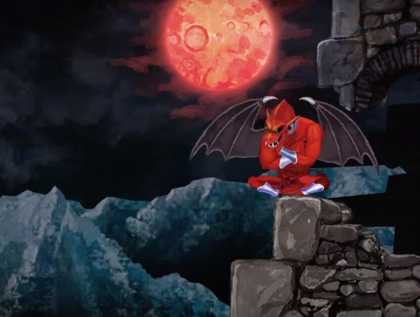 The devil awaits Arthur