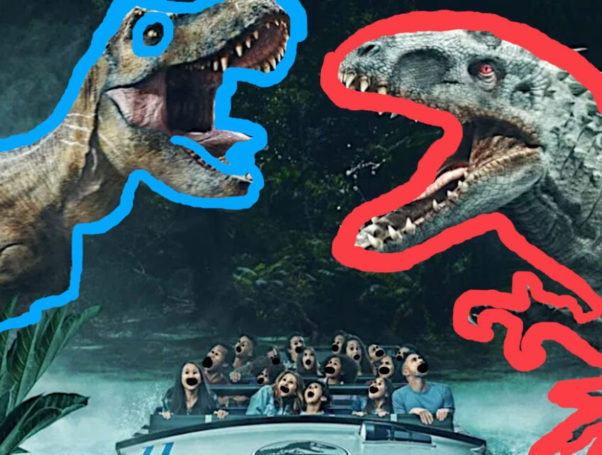 Jurassic World: The Ride poster