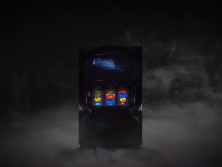 A haunted arcade cabinet?