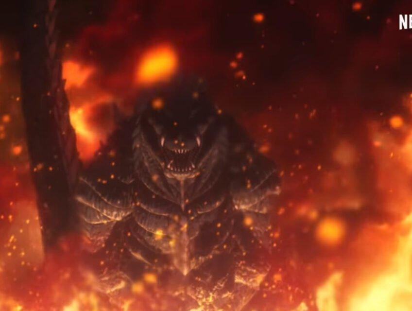 Godzilla in Singular Point