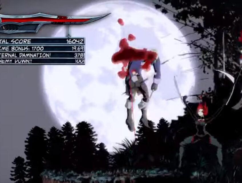Wayforward's Bloodrayne