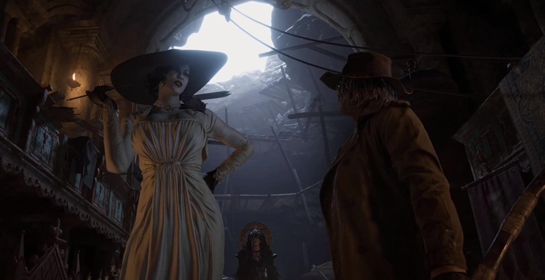 Lady Dimitrescu argues with Heisenberg