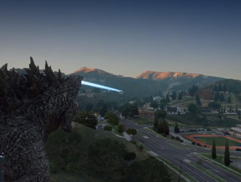 Godzilla in San Andreas