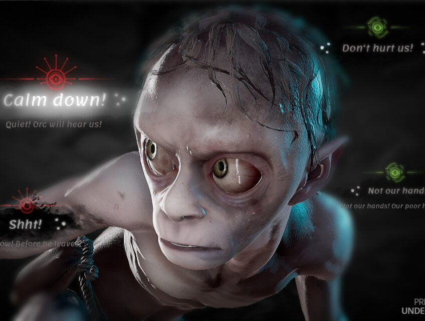 Gollum in The Lord of the Rings: Gollum