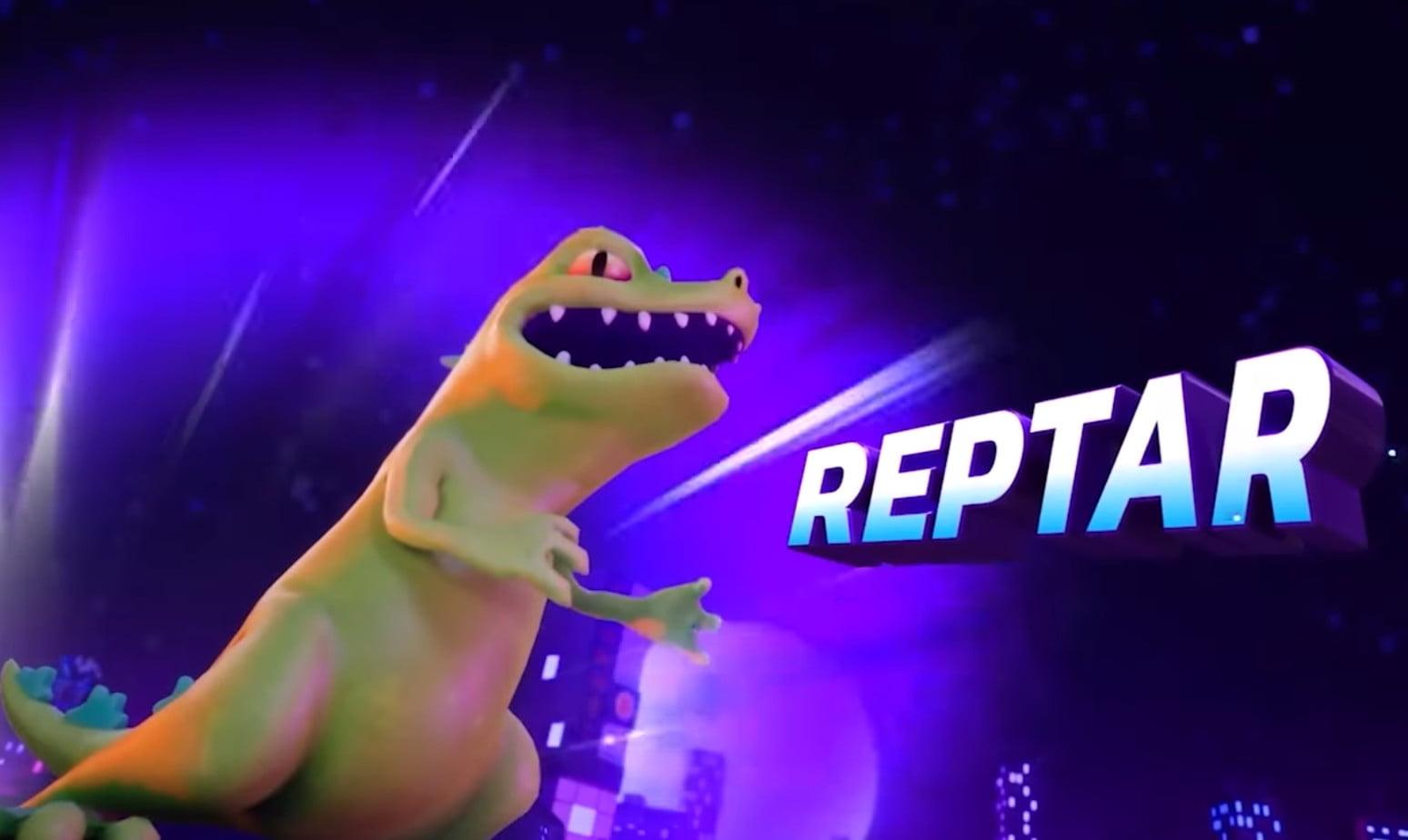 Repatr in Nickelodeon All-Star Brawl