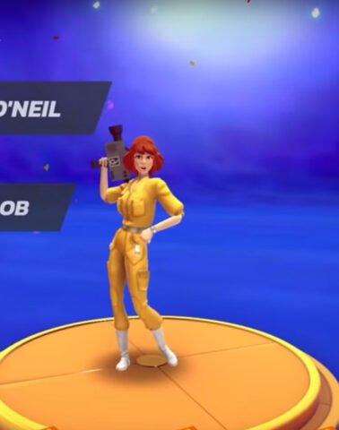 April O'Neil in Nickelodeon All-Stars Brawl