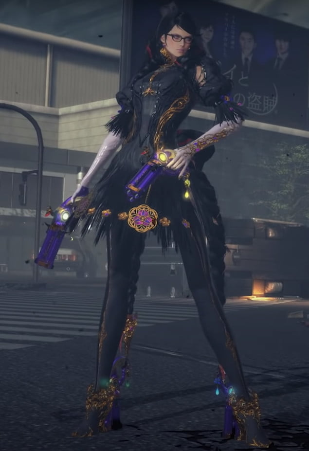 Bayonetta with a new look