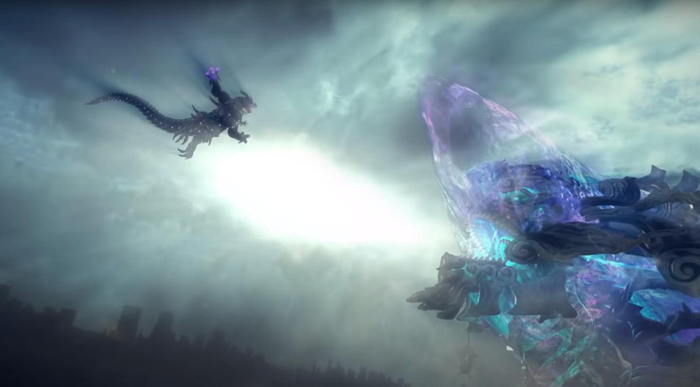 Kaijus face off in latest Bayonetta 3 trailer