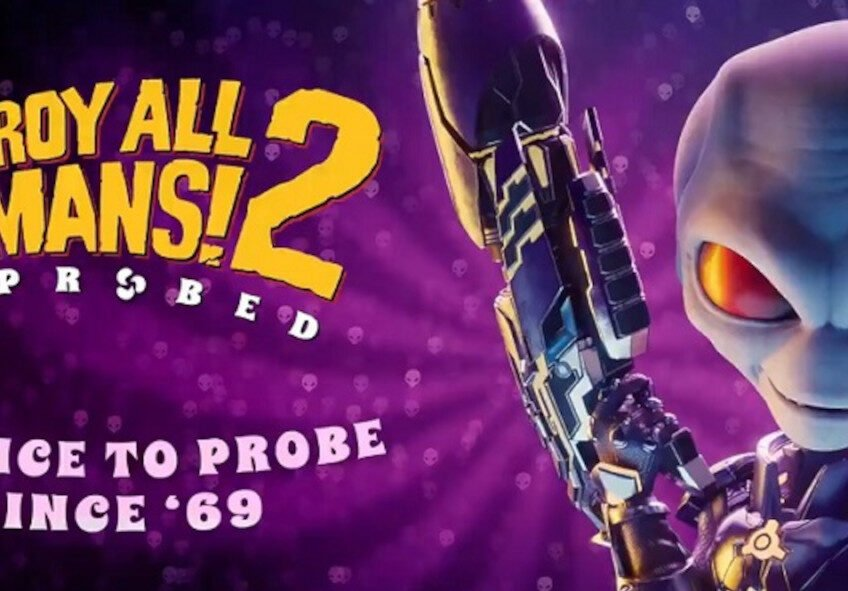 Destroy All Humans! 2: Reprobed poster