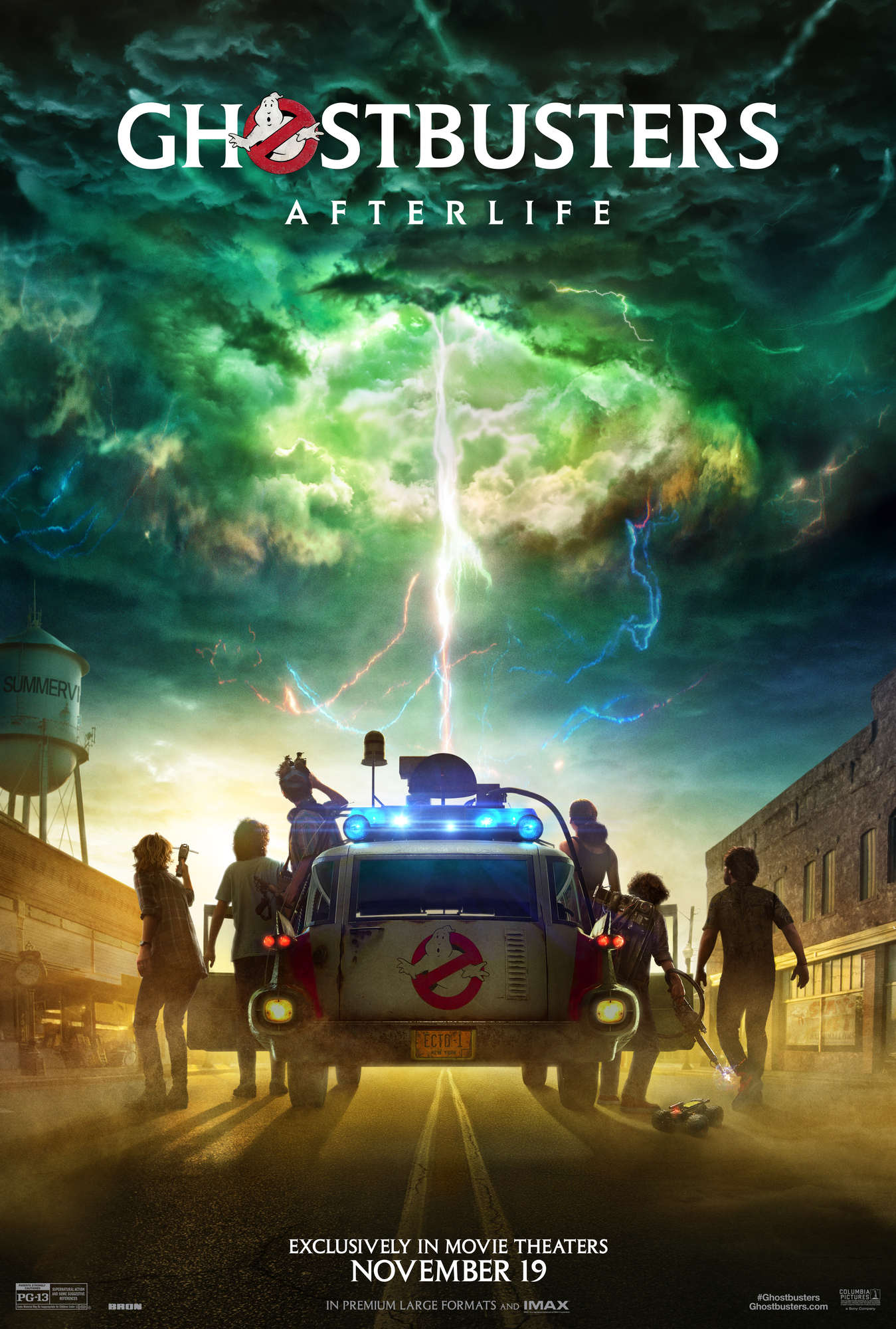 New Ghostbusters: Afterlife poster
