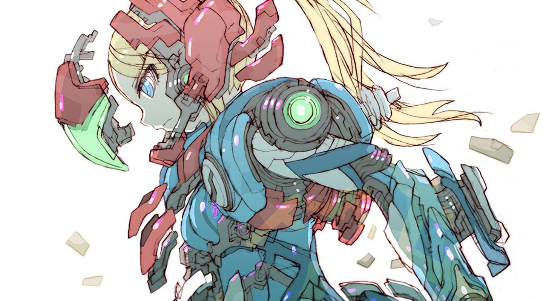 Toru Nakayama's Metroid Dread Samus artwork