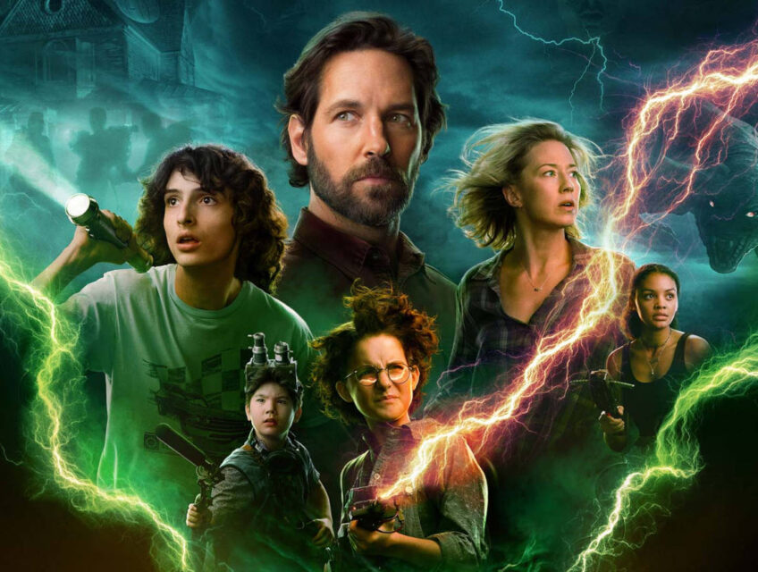 Close-up of the new Afterlife poster featuring Paul Rudd