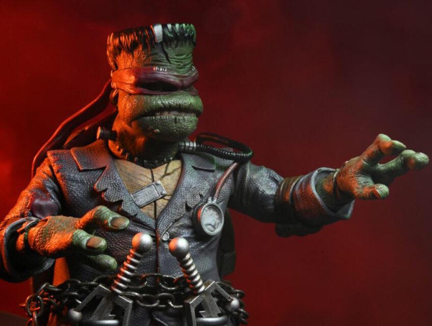 Raphael as Frankenstein's Monster