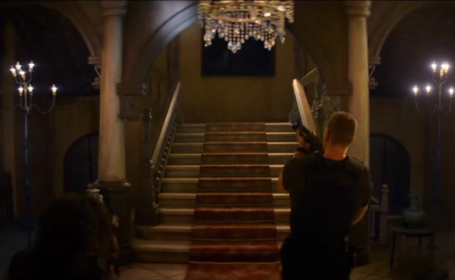 Mansion in Resident Evil movie