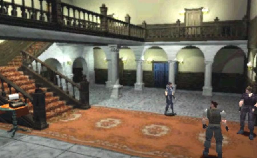 Mansion in original Resident Evil game