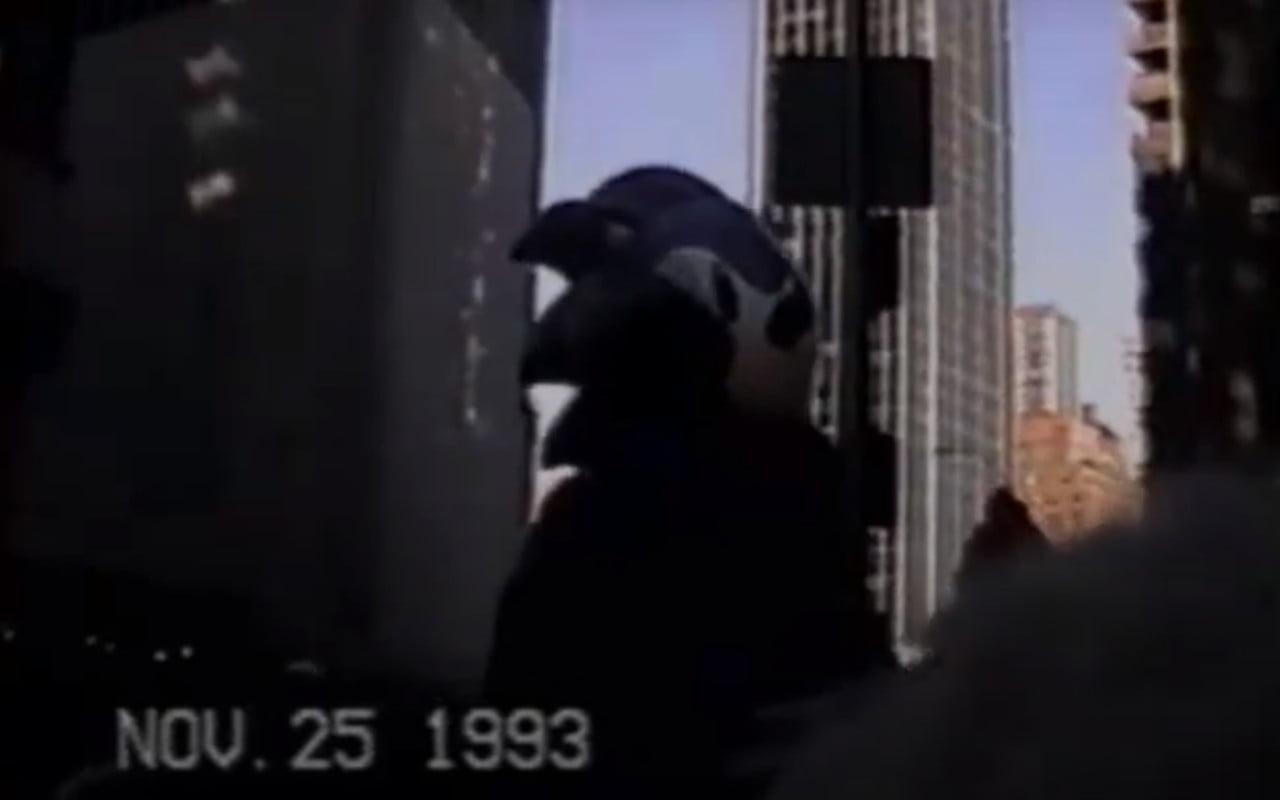 The Macy's Parade Sonic balloon circa 1993